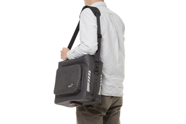 Tern Dry Goods Bag is with detachable shoulder straps