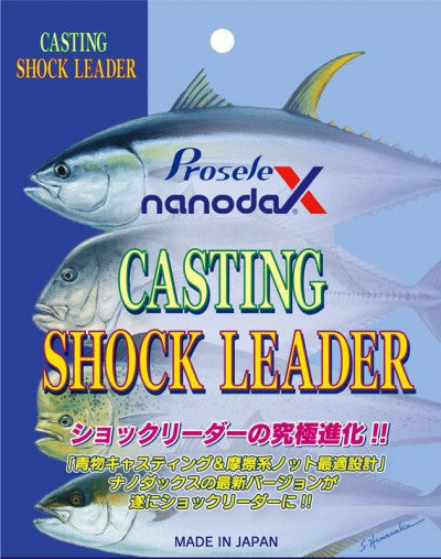 Prosele Nanodax Shock Leader 100Lb available at Topwaterspecialists.com