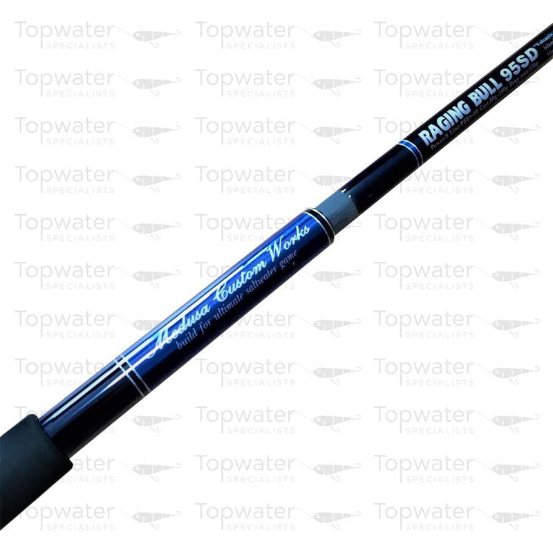 "MC Works Raging Bull 95SD ""Volcanic Island Special"" available at Topwaterspecialists.com"