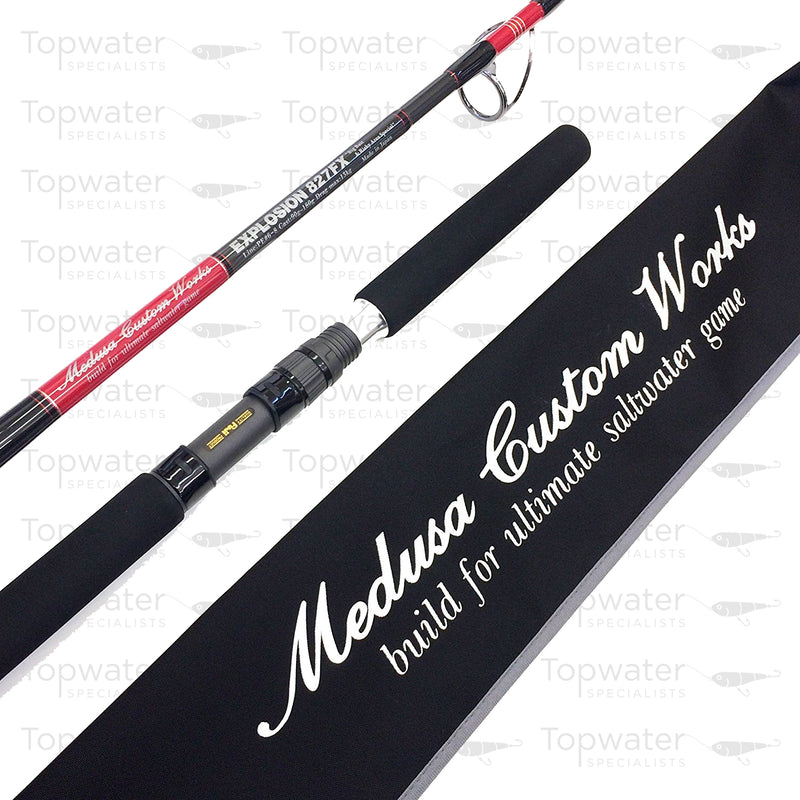 MC Works Explosion 827FX ' Risky Area Special' available at Topwaterspecialists.com