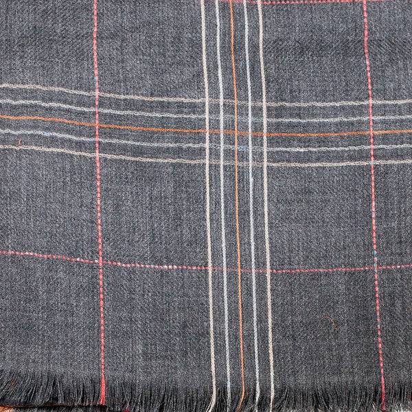 Wool Checks Scarf