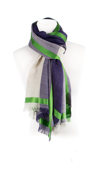 Double Colour Wool Scarf