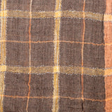 Checks Wool Silk Scarf