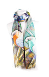 Exclusive Bird Print Scarf