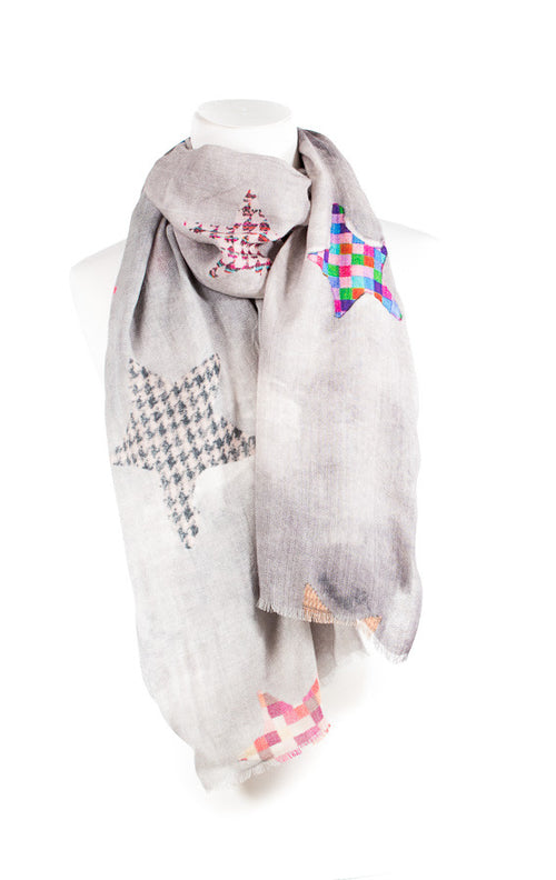 Stylish Star Modal Cashmere Scarf