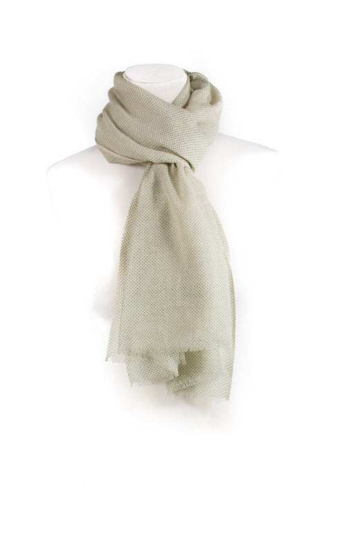 Wool Silk Scarf