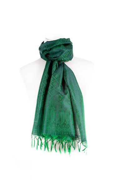 Pure Silk Scarf - Multiple Patterns