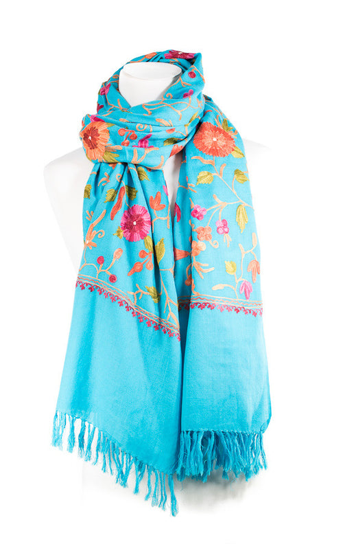 Exclusive Aari Work Long Scarf