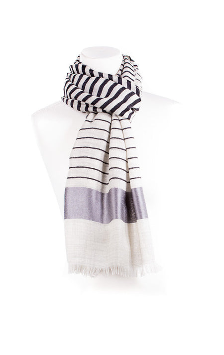 Checks Wool Unisex Scarf