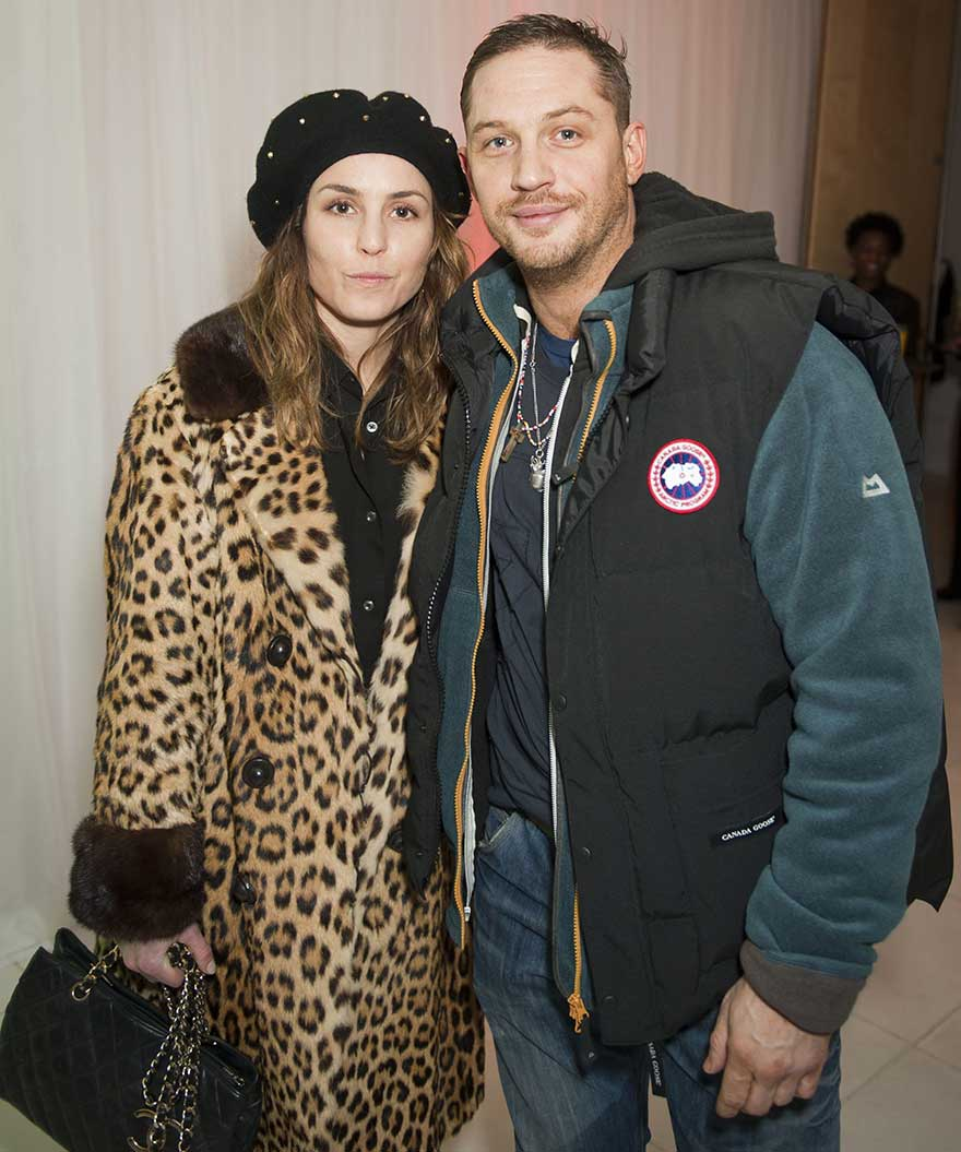 Tom Hardy in Canada Goose