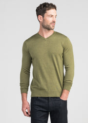 Mens Langley V Sweater