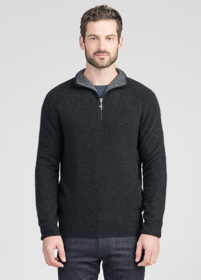 Mens Estuary Half Zip - Graphite/Slate