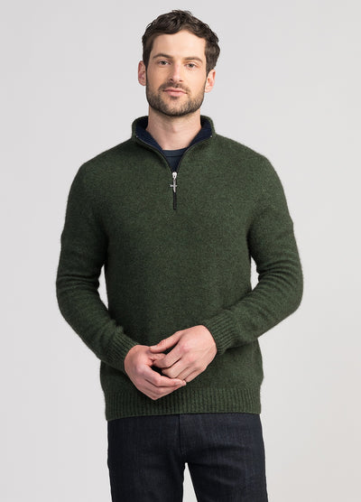 Mens Estuary Half Zip