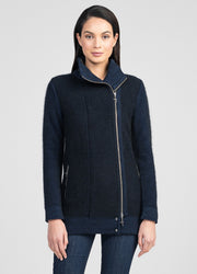 Womens Inspire Jacket - Zephyr/Black