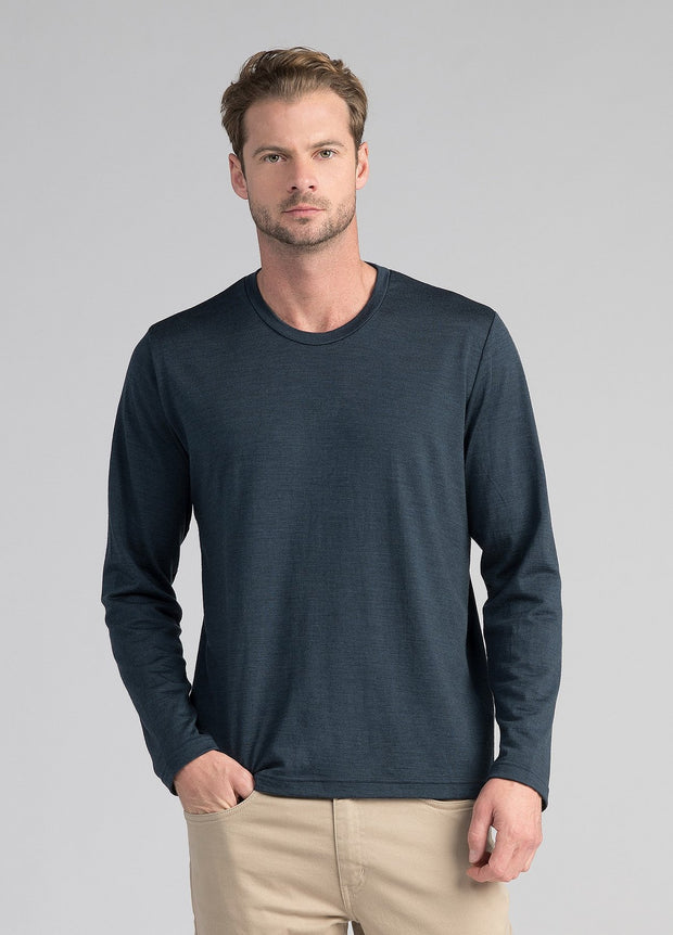 Mens Mountainsilk Long Sleeve Crew - SALE