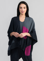 Womens Frame Merino Wrap-Untouched World-Te Huia New Zealand