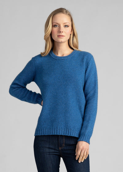 Womens Ecopossum Mosey Sweater - Untouched World | Te Huia New Zealand