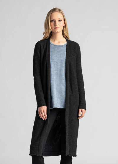 Womens Ecopossum Coat Cardi - Untouched World | Te Huia New Zealand