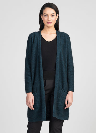 Womens Everyday Cardi - Peacock