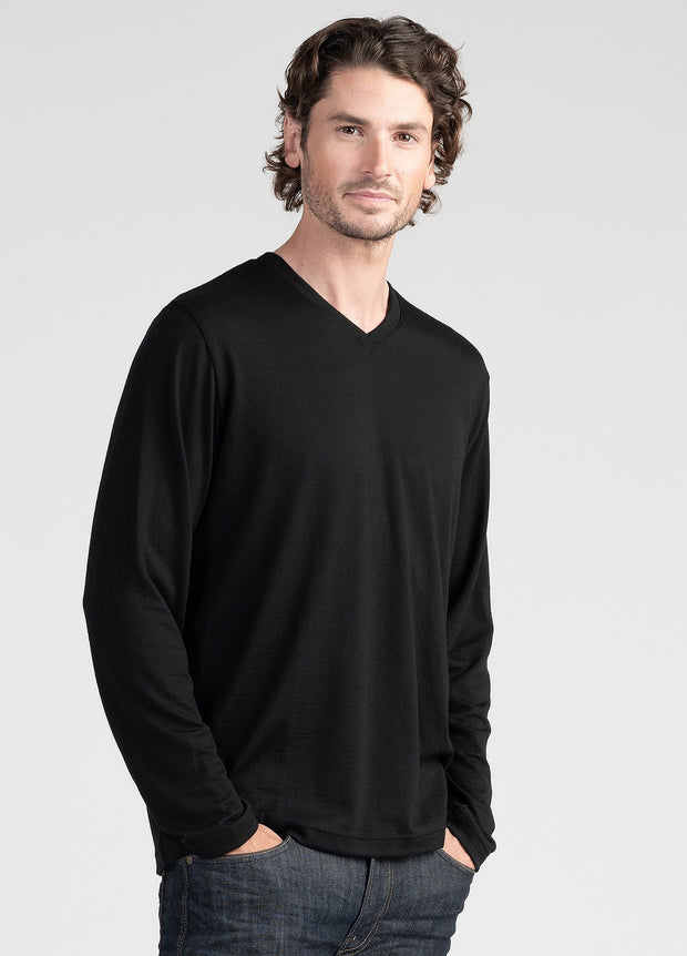 Mens Long Sleeve Tee | Shop Untouched World at Te Huia in Arrowtown, NZ