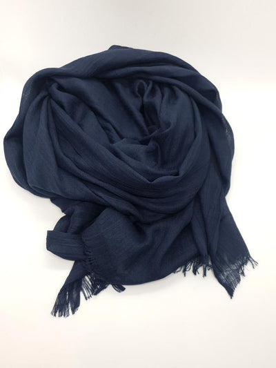 Womens Bamboo Scarf - Deep Blue