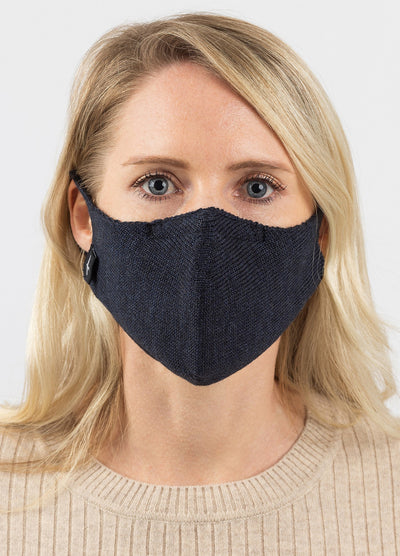 Nanoknit Face Mask - Dark Navy