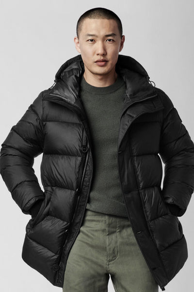 Mens Vernon Parka Black Label - Canada Goose