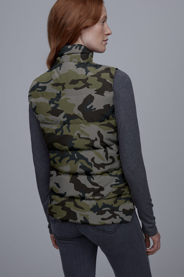 Womens Freestyle Vest Print