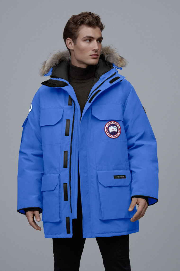 Canada Goose Mens Polar Bears International Expedition Parka PBI Blue ...