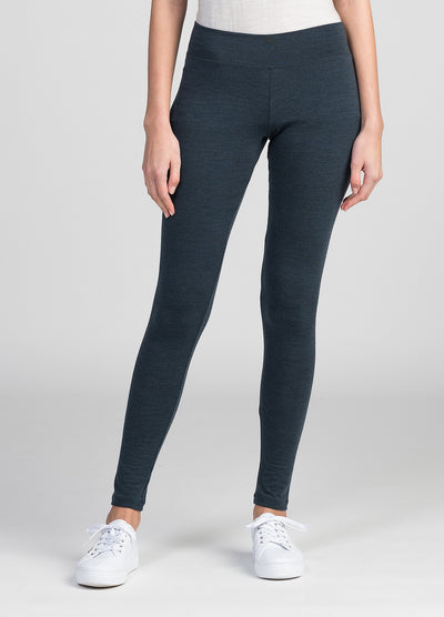 Womens Snow Leggings - Tasman Melange