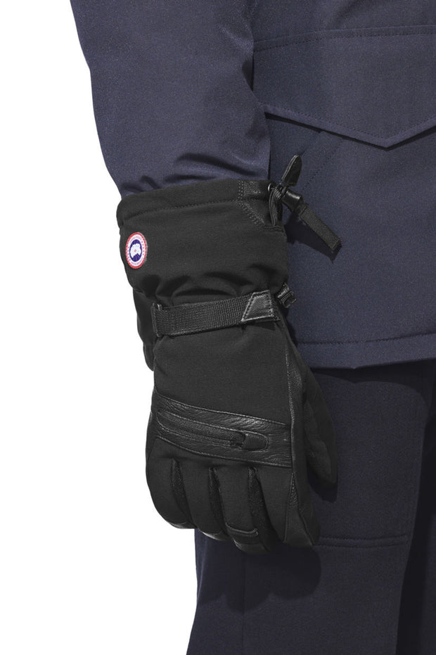 Canada Goose Mens Northern Utility Gloves Black