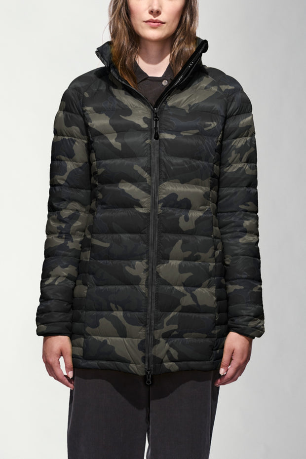 Canada Goose Womens Brookvale Hooded Coat Black Label Black Camo