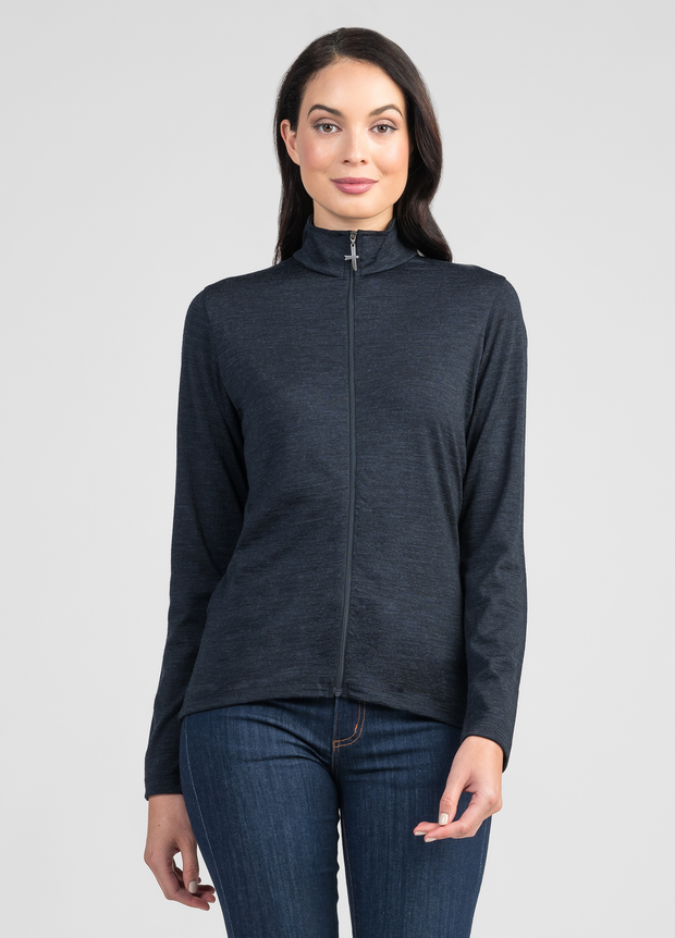 Womens Scamper Zip Jacket - Untouched World | Te Huia New Zealand