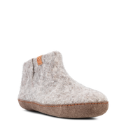 Womens Everest Wool Felt Boot - Light Grey