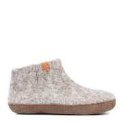 W Wool Felt Boot Suede/Light Grey -Green Comfort | Te Huia New Zealand