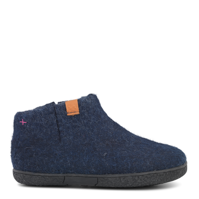 W Wool Felt Boot Rubber Outsole - Green Comfort | Te Huia New Zealand