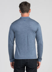 Mens Mountainsilk Pua Zip Shirt | Untouched World | Te Huia New Zealand