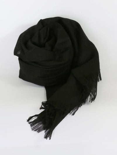 Womens Bamboo Scarf - Black
