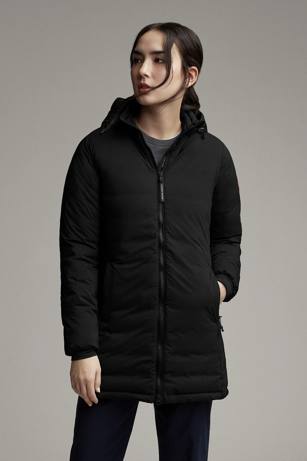 Womens Camp Hooded Jacket Matte Finish