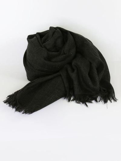 Womens Bamboo Scarf - Charcoal