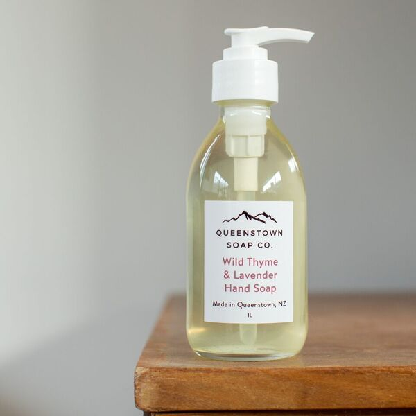 Liquid Soap - Wild Thyme and Lavender