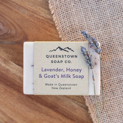Handmade Soap - Lavender, Honey and Goat's Milk