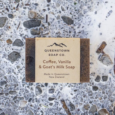 Handmade Soap - Coffee, Vanilla and Goat's Milk