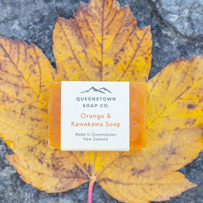 Handmade Soap - Orange and Kawakawa