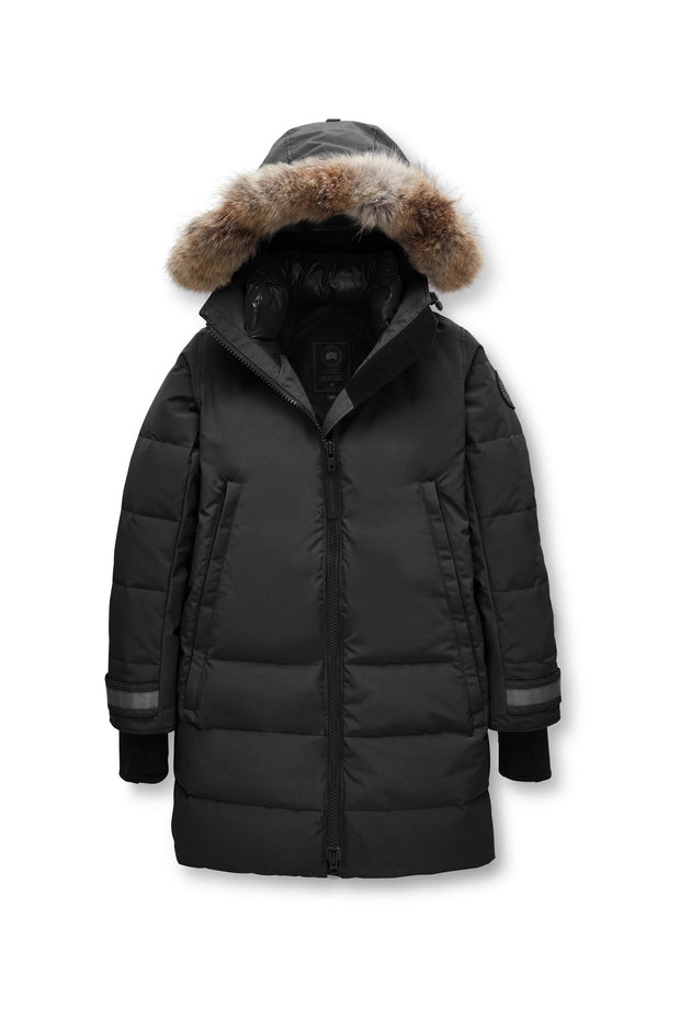 Womens Kenton Parka Black Label