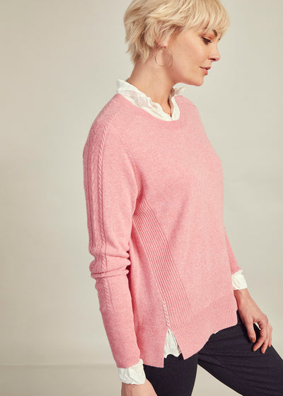 Womens Able The Cable Sweater