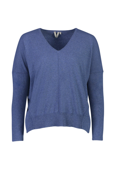 Womens Must Have Sweater - Blue Lake