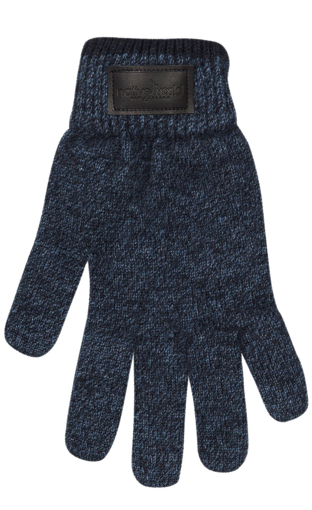 Possum Merino Marl Gloves - Native World | Te Huia New Zealand