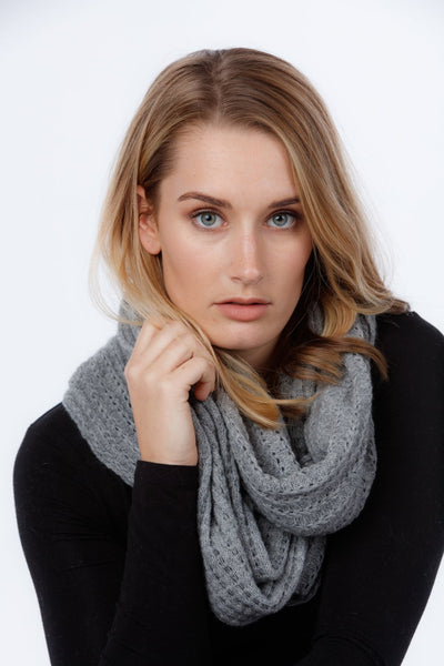 Womens Lace Loop Scarf - Native World | Te Huia New Zealand