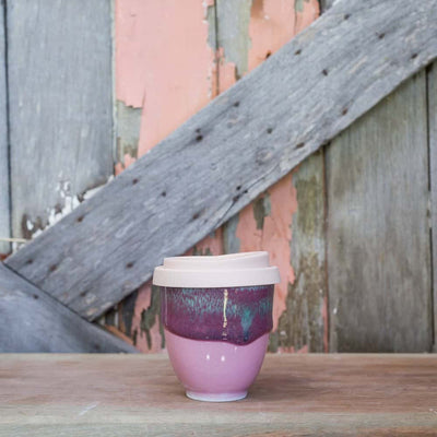 Ceramic Cups - Pink Flamingo